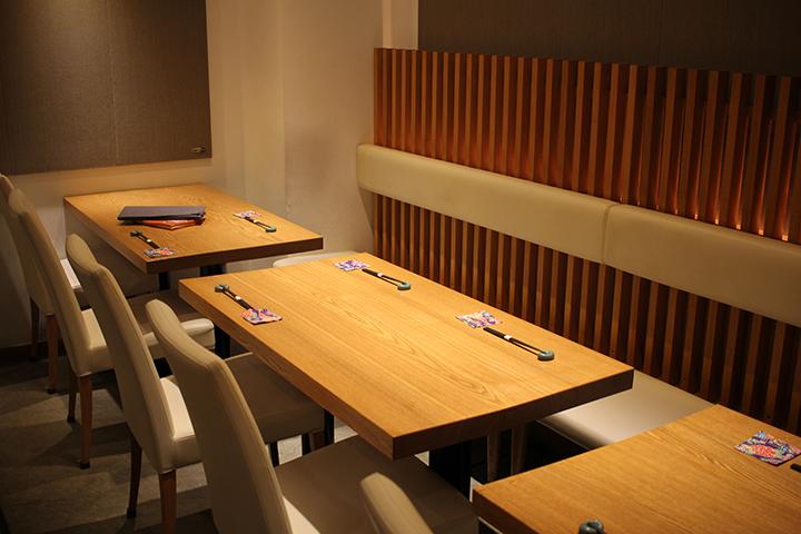 【代々木】基 テーブル席